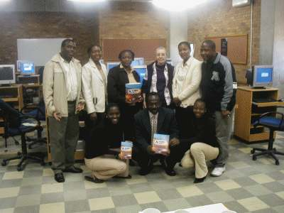 NVIVO 2 training for HSRC mentors and students at Turfloop University of Limpopo